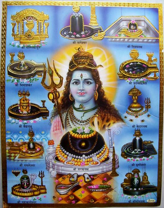 12 Jyotirlinga Temples in India Names & Places List Location Wise